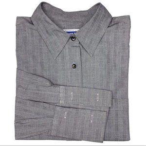 Pendleton Mens French Cuff Button Down Dress Shirt